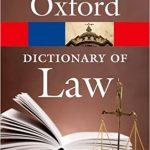 Oxford Dictionary of Law