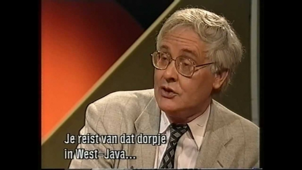 Benedict Anderson About Nationalism (In mijn vaders huis, 1994)