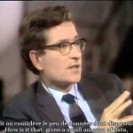 "Noam Chomsky vs Michel Foucault FULL DEBATE 1971 "" French Subtitles"